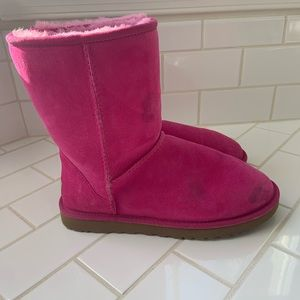 Ugg Boots Australia Pink Women's 8